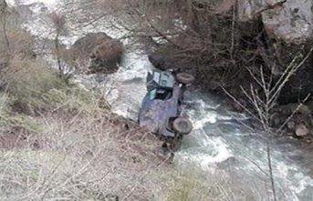 Giresun'da zırhlı araç devrildi! Yaralılar...