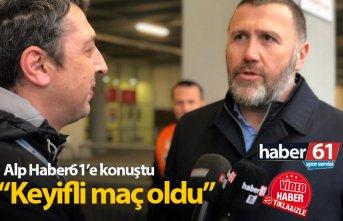 Mehmet Yiğit Alp: Artık Fenerbahçe maçına bakıyoruz
