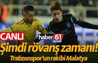 Trabzonspor Malatyaspor - CANLI