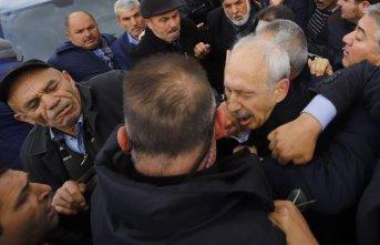 KIlıçdaroğlu'na yapılan saldırının yaşandığı...