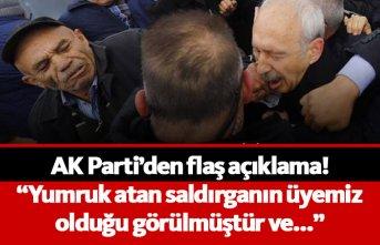 AK Parti'den flaş açıkalama: O saldırgan üyemiz çıktı, disipline sevkedildi
