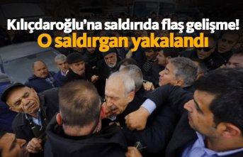 Kılıçdaroğlu'na saldırı olayında flaş gelişme