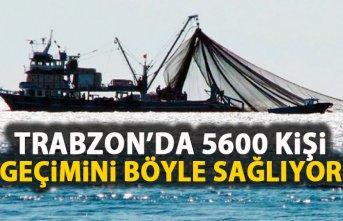 Trabzon'da 5 bin 600 kişi geçimini böyle sağlıyor