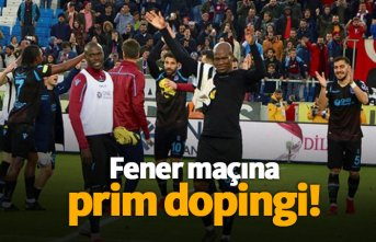 Trabzonspor'da Fener maçına özel prim