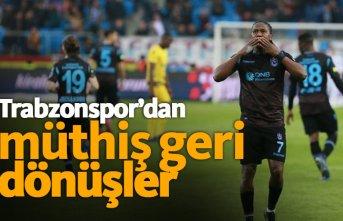 Trabzonspor'dan Akyazı'da müthiş geri...