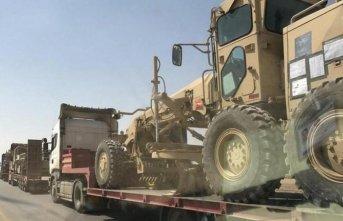 Irak'tan Deyrizor'a 200 TIR'lık sevkiyat!