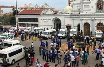 Sri Lanka'da ölü sayısı 310'a yükseldi!