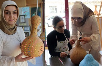 30 sanat dalında eğitim veren Bitlisli kadının başarı öyküsü