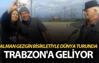 Alman gezgin, bisikletiyle dünya turunda - Trabzon'a geliyor
