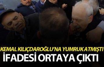Kemal Kılıçdaroğlu'na yumruk atan kişinin...
