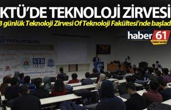 KTÜ'de Teknoloji zirvesi - 3 günlük teknoloji...