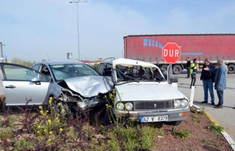 Konya'da trafik kazası!