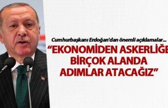 """Cumhurbaşkanı Erdoğan'dan """"ortak payda""""..."""