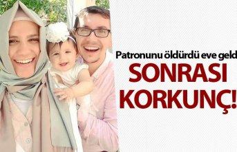Dehşet! Patronunu eşi ve kızını öldürüp intihar...
