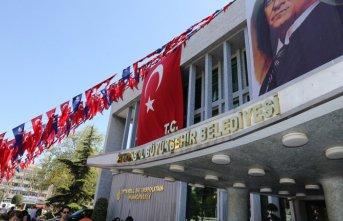 İstanbul Büyükşehir Belediyesi binasına 'T.C.'...
