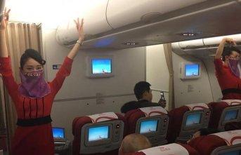 Türkiye'ye ilk uçuşunu böyle yaptı