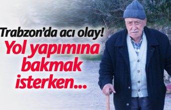 Trabzon'da acı olay! Uçurumdan düşüp öldü