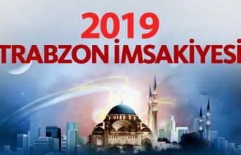 2019 Trabzon imsakiyesi - Trabzon iftar saatleri