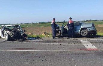 Şanlıurfa'da zincirleme kaza: 1 ölü 3 yaralı