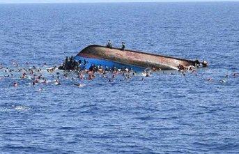Göçmenleri taşıyan tekne battı: 70 ölü