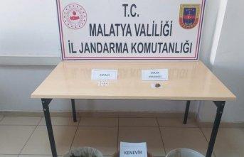 Malatya'da uyuşturucu operasyonu: 1 tutuklu
