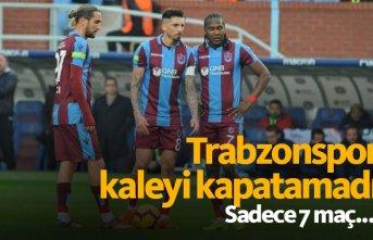 Trabzonspor kalesini kapatamadı