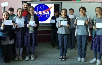 Akpınar Ortaokulu öğrencilerinden NASA'YA mektup