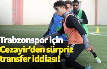 Cezayir'den Trabzonspor'a sürpriz transfer...