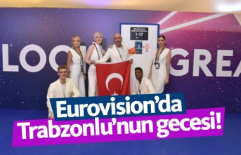 Eurovision'da Trabzonlu'nun gecesi