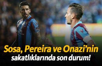 Trabzonspor açıkladı! Sosa, Pereira ve Onazi'nin...