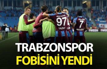 Trabzonspor fobisini yendi