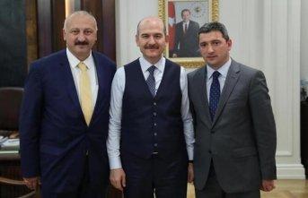 Başkan Çebi'den Soylu'ya ziyaret