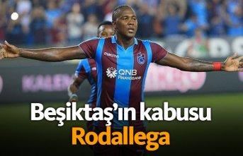 Rodallega Beşiktaş'ın kabusu!