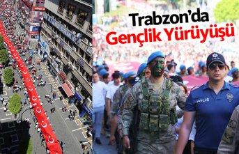 Trabzon'da Gençlik Yürüyüşü