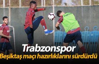 Trabzonspor, Beşiktaş maçı hazırlıklarını...