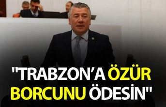 "Hüseyin Örs: ""Trabzon'a özür borcunu ödesin"""