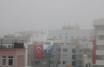 Samsun'da yoğun sis! Görüş mesafesi...