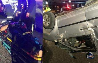 Adıyaman'da trafik kazası!