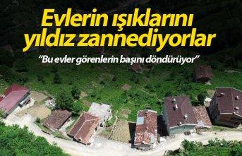 Bu evler görenlerin başını döndürüyor!