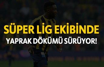 Süper Lig ekibinde yaprak dökümü sürüyor!
