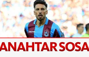 Trabzonspor'da anahtar Sosa olacak
