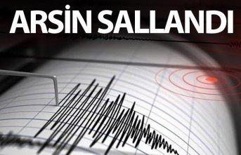 Deprem - Arsin sallandı