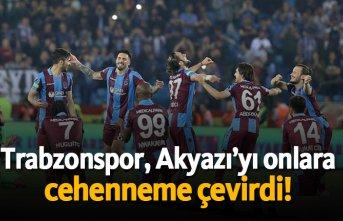 Trabzonspor, Akyazı'yı onlara cehenneme çevirdi!