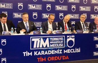 Türkiye İhracatçılar Meclisi Ordu'da toplandı