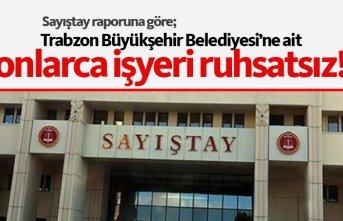 Trabzon Büyükşehir Belediyesi'nin 61 iş yeri...