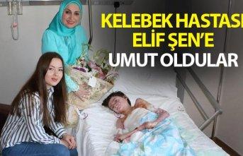 """Trabzon'da """"Kelebek hastası"""" Elif'e..."""