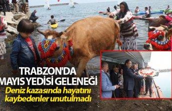 Trabzon'da Mayıs Yedisi geleneği - Deniz kazasında...