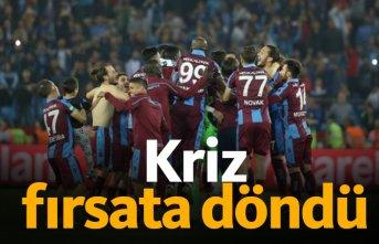 Trabzonspor krizi fırsata çevirdi