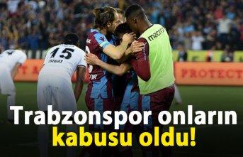 Trabzonspor onların kabusu oldu
