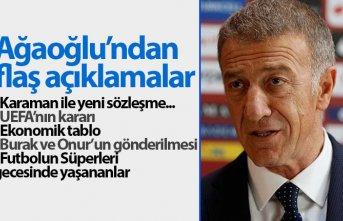 Ahmet Ağaoğlu'ndan flaş açıklamalar